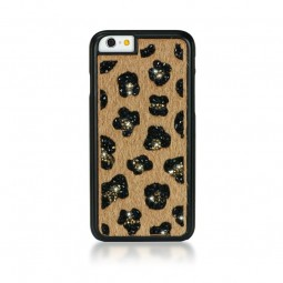 Coque Ayano Glam Leopard Beige pour iPhone 6 / 6s