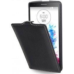 StilGut étui UltraSlim en cuir véritable noir pour LG G3s