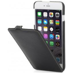 StilGut étui UltraSlim en cuir véritable noir pour iPhone 6 plus / 6s Plus