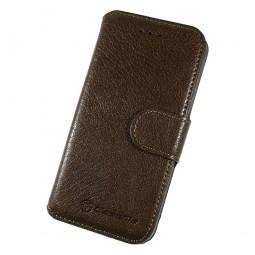 Etui Book type marron foncé pour iPhone 6 Plus - CaseMe