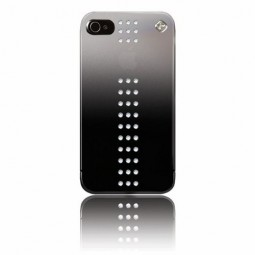 Coque Stripe Crystal Swarovski pour iPhone 5 / 5S