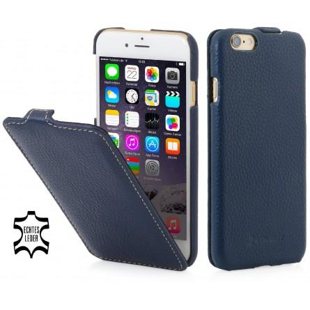etui iphone 6 plus 6s plus ultraslim en cuir v ritable bleu marine stilgut. Black Bedroom Furniture Sets. Home Design Ideas