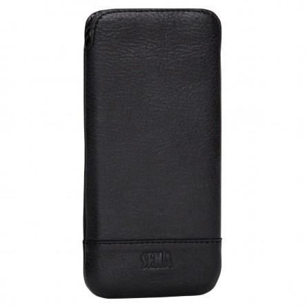 Housse iPhone 6 / 6s en cuir véritable noir - Sena Cases