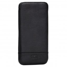 Housse iPhone 6 Plus / 6s Plus en cuir véritable noir - Sena Cases