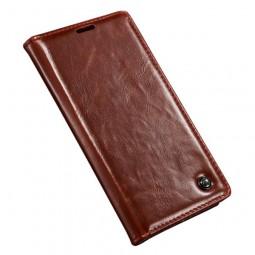 Etui Sony Xperia Z4 Portefeuille Rouge- CaseMe