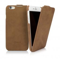 Etui iPhone 6s en cuir véritable Vintage marron - CASEual