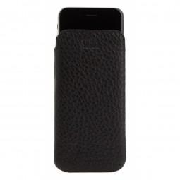 Housse iPhone 6 / 6s Classic en cuir véritable noir - Sena Cases