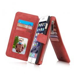 Etui iPhone 6 / 6S Porte-cartes et Porte-monnaie Rouge - CaseMe