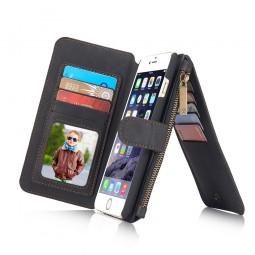 Etui iPhone 6 / 6S Porte-cartes et Porte-monnaie Noir - CaseMe