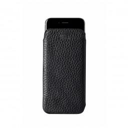 Housse iPhone 8 Plus/7 Plus en cuir véritable Ultra Slim Classic noir - Sena Cases