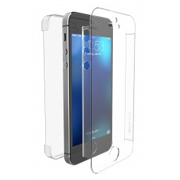 Coque iPhone SE / 5S / 5 Defense 360° transparente - Xdoria