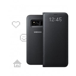 Etui Galaxy S8 Led View Cover Noir - Samsung