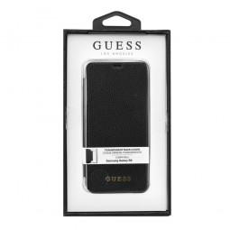 Etui Galaxy S8 Coque Transparente couverture Noire - Guess