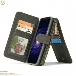 Etui Galaxy S8 Plus Porte-cartes et Porte-monnaie Noir - CaseMe