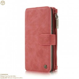 Etui Galaxy S8 Plus Porte-cartes et Porte-monnaie Rouge - CaseMe