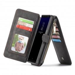 Etui Galaxy Note 8 Porte-cartes et Porte-monnaie Noir - CaseMe
