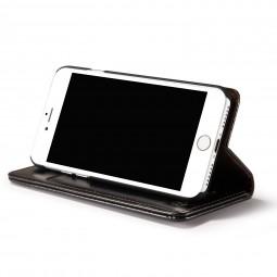 Etui iPhone 8 / 7 Portefeuille Noir - CaseMe