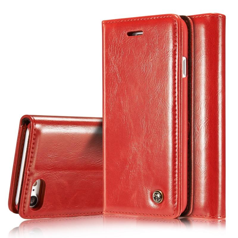 Etui iPhone 8 / 7 Portefeuille Rouge - CaseMe