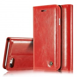 Etui iPhone 8 / 7 Portefeuille Rouge - CaseMe