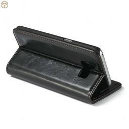 Etui Galaxy S8 Portefeuille noir - CaseMe