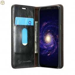 Etui Galaxy S8 Plus Portefeuille noir - CaseMe