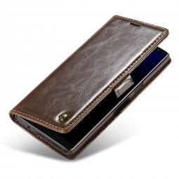 Etui Galaxy Note 8 Portefeuille Marron - CaseMe
