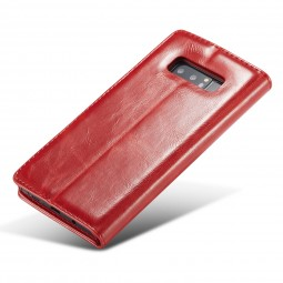 Etui Galaxy Note 8 Portefeuille Rouge - CaseMe