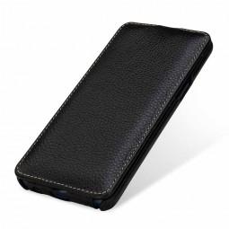 Etui Galaxy S9 UltraSlim en cuir véritable noir - StilGut
