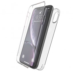 Coque iPhone Xr Defense 360° transparente - Xdoria