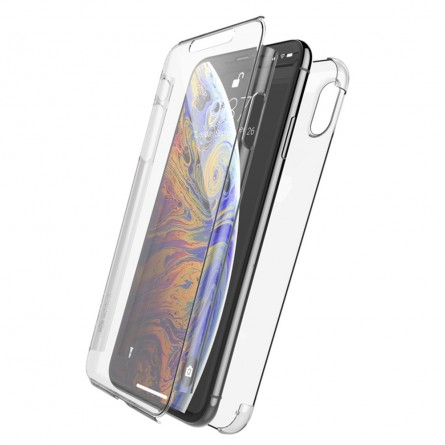 Coque iPhone Xs Max Defense 360° transparente - Xdoria
