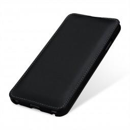 Etui iPhone Xs Max ultraslim en cuir véritable Noir Nappa - StilGut