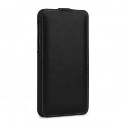 Etui Samsung Galaxy S10e ultraslim en cuir véritable Noir Nappa - StilGut