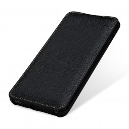Etui Galaxy S10 Plus UltraSlim en cuir véritable noir - StilGut