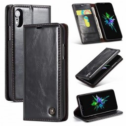 Etui iPhone Xr Portefeuille Noir - CaseMe