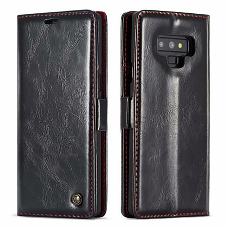 Etui Galaxy Note 9 Portefeuille Noir - CaseMe