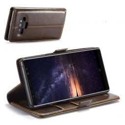 Etui Galaxy Note 9 Portefeuille Marron - CaseMe
