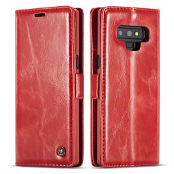 Etui Galaxy Note 9 Portefeuille Rouge - CaseMe