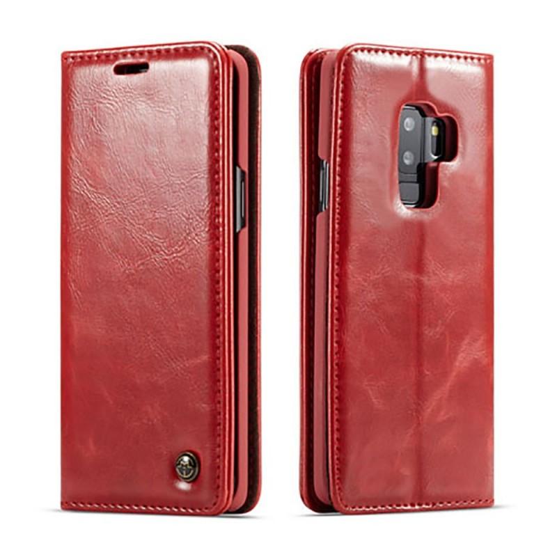 Etui Galaxy S8 Plus Portefeuille rouge - CaseMe