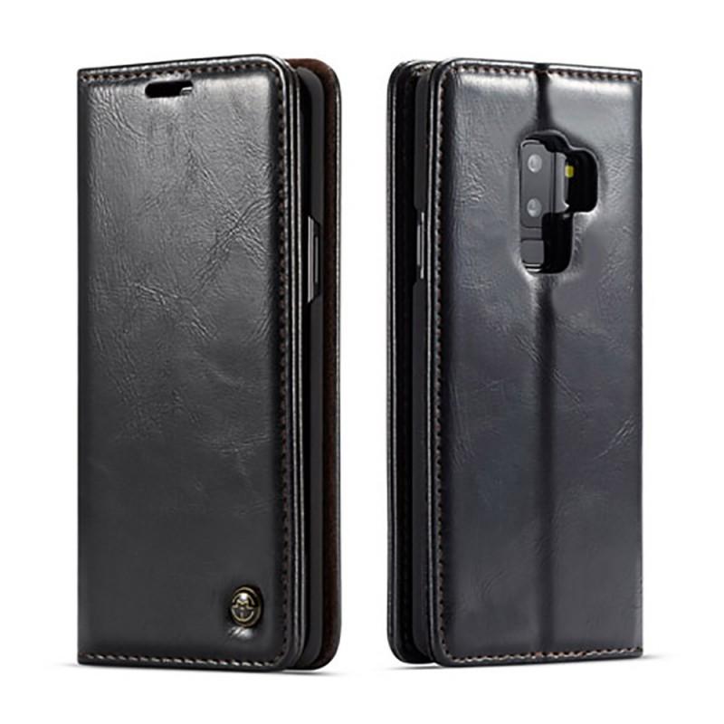 Etui Galaxy S9 Plus Portefeuille noir - CaseMe