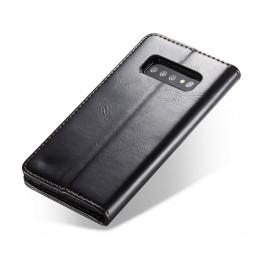 Etui Galaxy S10 Portefeuille noir - CaseMe