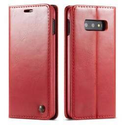 Etui Galaxy S10e Portefeuille rouge - CaseMe
