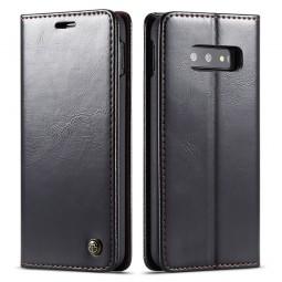 Etui Galaxy S10e Portefeuille noir - CaseMe