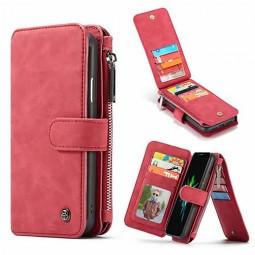 Etui iPhone Xr Porte-cartes et Porte-monnaie Rouge - CaseMe