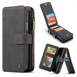 Etui iPhone Xr Porte-cartes et Porte-monnaie Noir - CaseMe