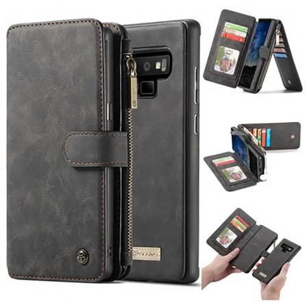 Etui Galaxy Note 9 Porte-cartes et Porte-monnaie Noir - CaseMe