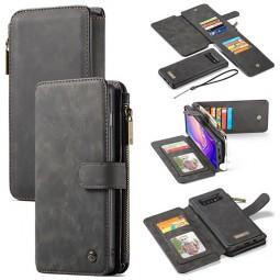 Etui Galaxy S10 Porte-cartes et Porte-monnaie Noir - CaseMe