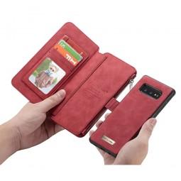 Etui Galaxy S10e Porte-cartes et Porte-monnaie Rouge - CaseMe