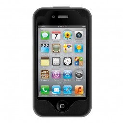 Coque Cuir SwitchEasy Lux Black pour iPhone 4/4S