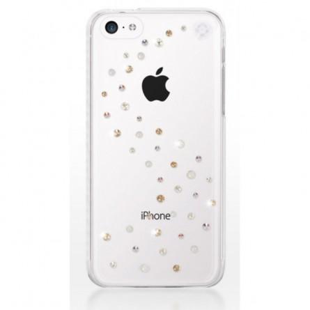 Coque Milkyway strass mixtes Swarovski pour iPhone 5C