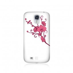 Coque orchid strass roses...